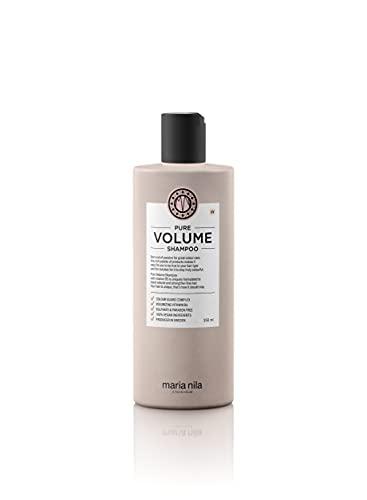 Maria Nila Pure Volume Shampoo | Haarshampoo für mehr Volumen mit Vitamin B5 | Haarpflege Sulfat & Parabenfrei 350ml