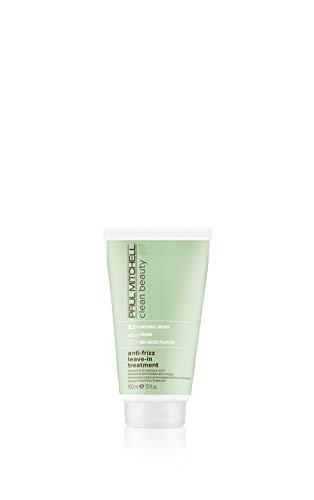 Paul Mitchell Clean Beauty Smooth Anti-Frizz Leave-In Treatment – vegane Haarpflege für geschädigtes Haar, Haar-Kur mit Mandel-Öl – 150 ml