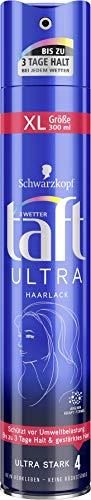 Schwarzkopf 3 Wetter taft Haarlack Ultra ultra starker Halt 4, 6er Pack (6 x 300 ml)