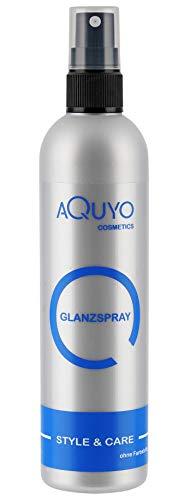 Glanzspray für Haare, Hair Spray verleiht dem Haar Glanz und macht es geschmeidig (200ml)   Haarspray gegen Frizz und Spliss, Shine Hair Spray zum Finish der Haare mit fruchtigem Duft