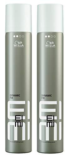 Wella 2x EIMI Dynamic Fix 45 Seconds Styler Crafting Spray 500 Ml