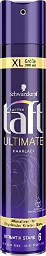 Schwarzkopf 3 Wetter taft Haarlack Ultimate ultimativ starker Halt 6, 6er Pack (6 x 300 ml)