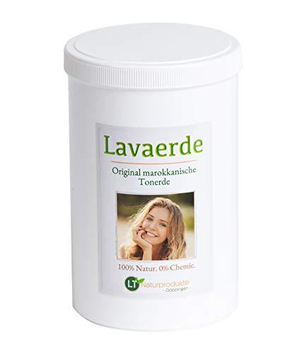 Lavaerde/Ghassoul | Original aus Marokko | 1kg | feines Pulver zur chemiefreien Haarwäsche, Körperpflege & Peeling | vegan | marokkanische Tonerde | Heilerde | Wascherde | Rhassoul | Anti Schuppen