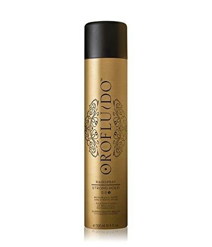 OROFLUIDO Strong Hold Hairspray – Haarspray für starken Halt, bemerkenswerten Glanz & Elastizität, Haarprodukt für ein natürliches Styling und perfektes Finish, 500 ml