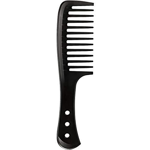 Breiter Zahnkamm Haarbürste Breiter Kamm Master Barbier Kamm Friseur Haarstyling Kamm Hitzebeständiger Antistatischer Kamm Reduzieren Haarbruch für Langem Nassem oder Lockigem Haar