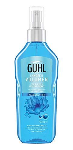 Guhl Langzeit Volumen Föhn-Aktiv Styling Spray - 48h-Halt - kraftvolles Volumen - 150 ml