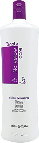 Fanola No Yellow Shampoo - Anti-Gelbstich Shampoo, 1l