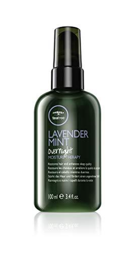 Paul Mitchell Tea Tree Lavender Mint Overnight Moisture Therapy - Leave-In Haar-Pflege repariert über Nacht, Hair-Care ideal für trockenes, geschädigtes Haar, 100 ml