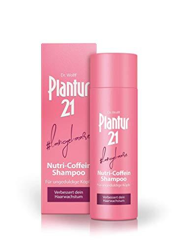 Plantur 21#langehaare Nutri-Coffein Shampoo - Pflegeshampoo für langes Haar zur Verbesserung des Haarwachstums - silikonfrei und parabenfrei - 1 x 200 ml