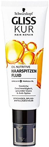 Gliss Kur Schwarzkopf Oil Nutritive Anti Spliss Haarspitzenfluid, 1er Pack (1 x 50ml)