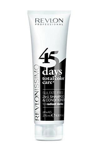 REVLON PROFESSIONAL 45 Days 2-in-1 Shampoo & Conditioner , Radiant Darks, 1er Pack (1 x 275 ml)