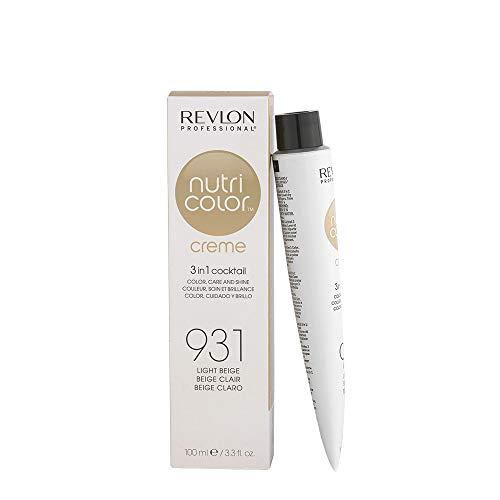 REVLON PROFESSIONAL Nutri Color Creme ,Nr. 931 Light Beige, 1er Pack (1 x 100 ml)