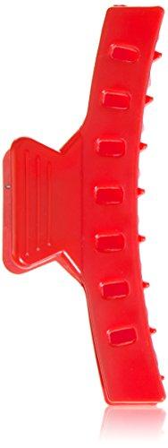 Efalock Wasserwellklammer rot 85 mm, 12 er Beutel