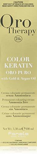 Fanola Oro Therapy Color Keratin Puro 6.0 dunkelblond, 100 ml