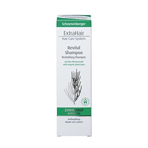 Schoenenberger Naturkosmetik ExtraHair Revital Shampoo BDIH, 1er Pack (1 x 200 ml)