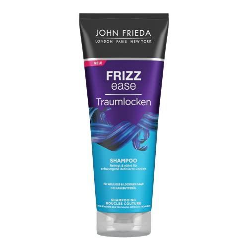John Frieda Frizz Ease Traumlocken Shampoo - 1er Pack (1 x 250 ml) - reinigt und spendet Feuchtigkeit - definiert und verstärkt Locken - mit Abyssinian-Öl