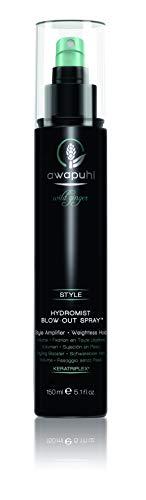 Paul Mitchell Awapuhi Wild Ginger HydroMist Blow-Out Spray - Feuchtigkeits-Spray für trockenes, strapaziertes Haar, Styling-Spray für mehr Volumen - 150 ml