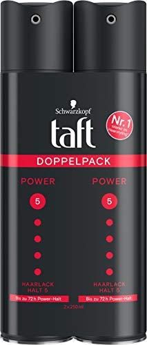 TAFT Haarlack Power Bis zu 72h Power Halt 5, 2er Pack, 500 ml
