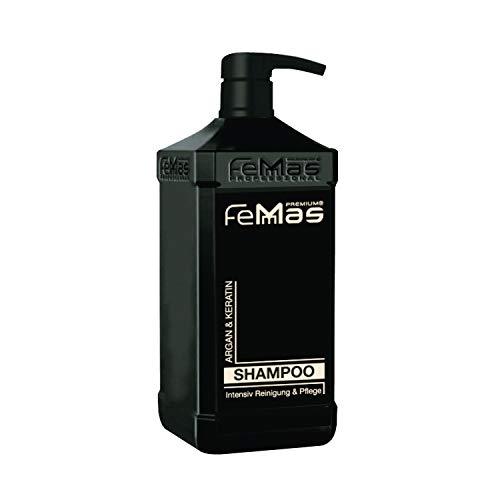 FemMas Argan & Keratin Shampoo 1000ml mit Pumpe