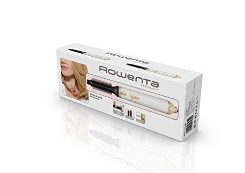Rowenta CF3910 Warmluftbürste Curl Release | Abrollsystem für einfache Locken und Wellen | Keramik-/Turmalinbeschichtung | 2 Temperatur- und Gebläseeinstellungen
