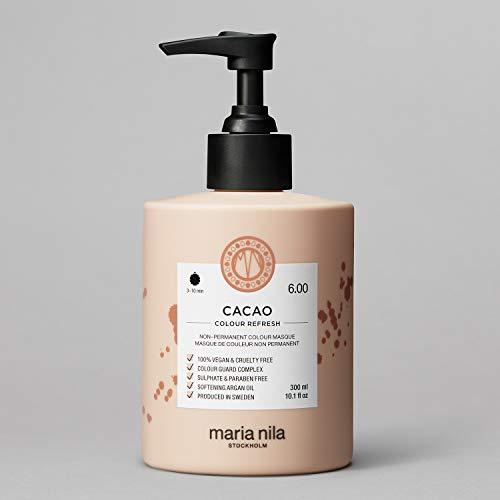 Maria Nila Colour Refresh - Cacao 300ml | Eine revolutionäre Farbmaske für mittelbraunes und dunkles Haar