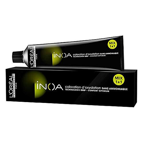 L'Oréal Professionnel Inoa 10,13 Platinblond Asch Gold, permanente Coloration, Ammoniakfrei, Geruchlos, 60 ml