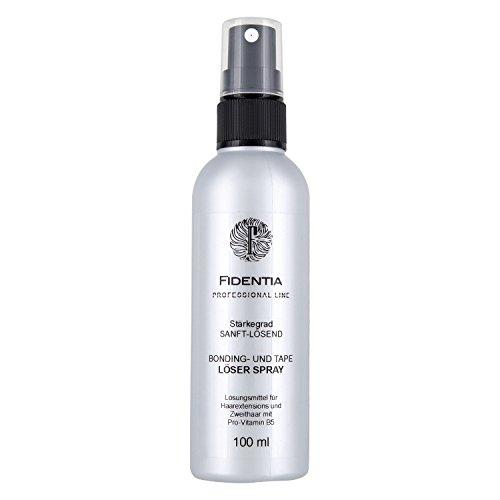 Fidentia Bondinglöser und Tape Lösemittel Spray für Hair Extensions, Perücke und Haarteil 100ml - Made in Germany