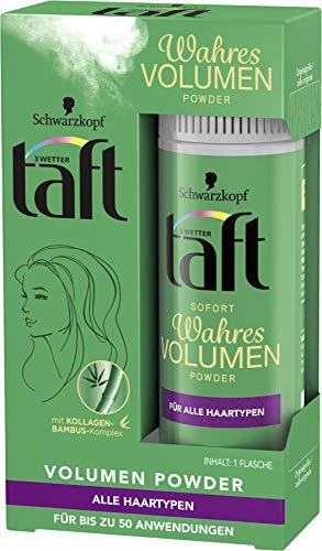 Schwarzkopf 3 Wetter taft Powder Wahres Volumen Sofort Volumen, 6er Pack (6 x 10 g)