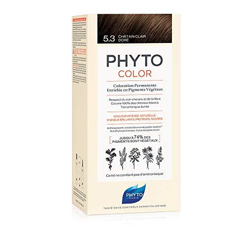 Phytocolor Permanente Coloration 5.3 Hellbraun vergoldet