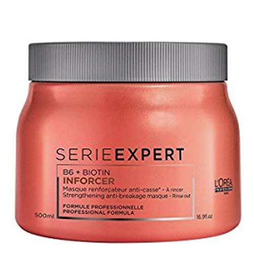 L'Oréal Professionnel Serie Expert Inforcer Maske, Stärkende Maske gegen Haarbruch, 1er Pack (1 x 500 ml)