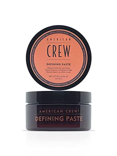 AMERICAN CREW – Defining Paste, 85 g, Stylingpaste für Männer, Haarprodukt mit mittlerem Halt, Stylingprodukt für flexibel formbares Haar & ein mattes Finish