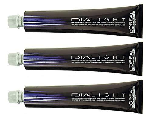 Loreal Dialight 9.12 milkshake platine perlmutt 3 x 50 ml Intensiv Tönung LP Semi-Permanente Coloration Dia Light