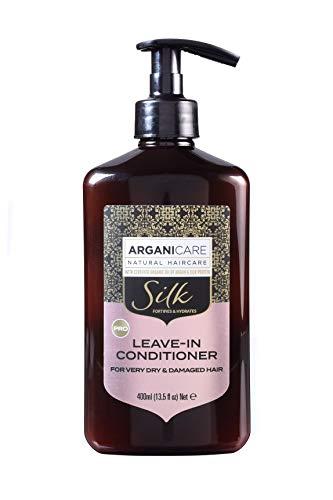 Arganicare Leave-In Conditioner Silk für trockenes und anspruchsvolles Haar 400ml