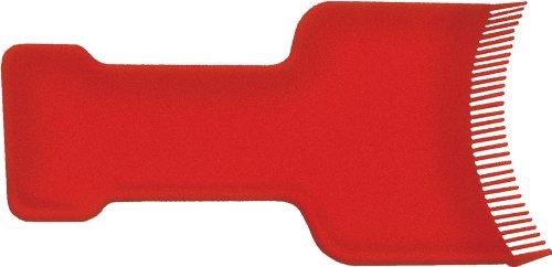 Fripac-Medis Haarsträhnen-Färbekelle, für moderne Strähnentechnik, rot