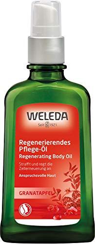 WELEDA Granatapfel Regenerations-Öl, intensives Naturkosmetik Pflegeöl mit pflanzlichen Ölen für anspruchsvolle Haut, Körperöl zur Förderung der Zellerneuerung und Elastizität (1 x 100 ml)