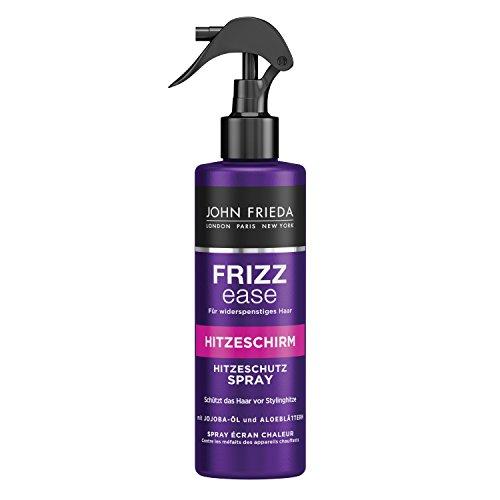 John Frieda Frizz Ease Hitzeschirm Hitzeschutz Spray mit Jojoba-Öl und Aloe-Blättern (1 x 200 ml)