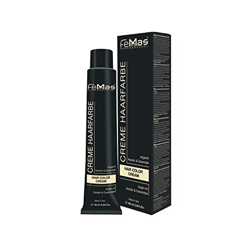 Femmas Hair Color Cream 100ml Haarfarbe (Hellblond Asch Intensiv 8.11)