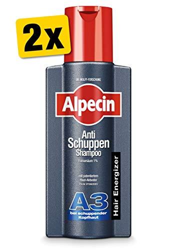Alpecin Anti-Schuppen Shampoo A3, 2 x 250 ml - Bei schuppender Kopfhaut