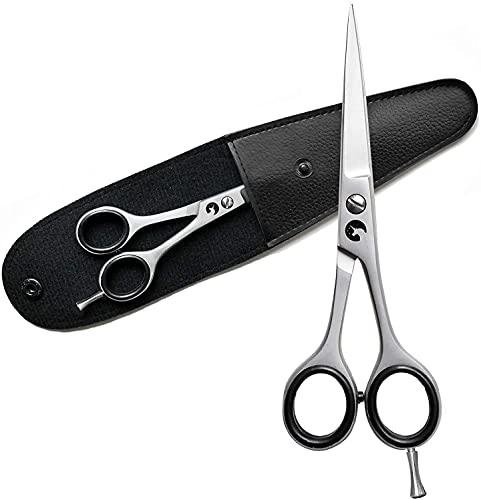 Eico Profi Friseurschere – Extra scharfe Premium Haarschere aus rostfreiem Edelstahl inkl. Etui – mit einseitiger Mikroverzahnung für einen glatten Schnitt (14 cm - 5,5 Zoll)