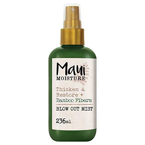 Maui Moisture Bamboo Fiber Blow Out Mist Haarpflege-Spray, für schwaches, brüchiges Haar, 236 ml