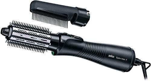 Braun Satin Hair 7 Airstyler Warmluft-Lockenbürste AS 720, mit IonTec, inkl. Kamm-und Bürstenaufsatz, 700 Watt