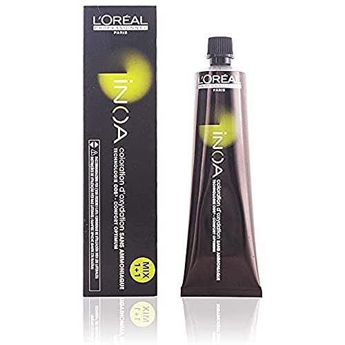 L'Oréal Professionnel Inoa 6,1 Dunkelblond Asch, permanente Coloration, 60 g
