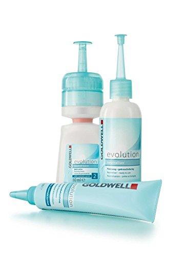 Goldwell Evolution 2 Dauerwell-Set natural wave für coloriertes Haar oder Strähnen bis 50 prozent, 1er Pack, (1x 0,18 L)