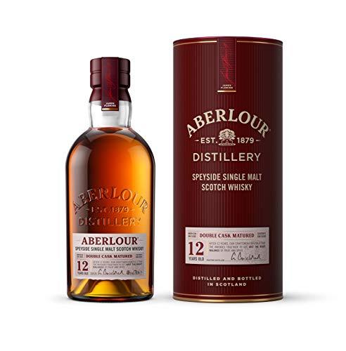 Aberlour 12 Jahre Highland Single Malt Scotch Whisky – Schottischer Double Cask Matured Scotch – 1 x 0,7 l