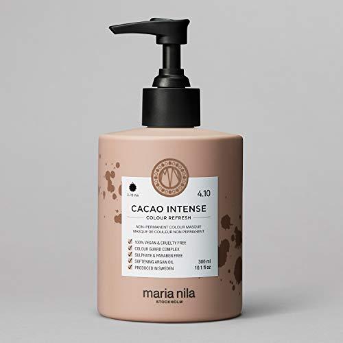Maria Nila Colour Refresh - Cacao Intense 300ml | Eine revolutionäre Farbmaske für mittelbraunes und dunkles Haar