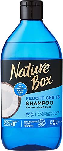 Nature Box Feuchtigkeits-Shampoo Kokosnuss-Öl, 385 ml