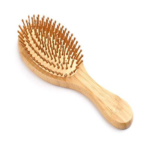 Holzkamm, professionell, gesundes Paddelkissen, Haarausfall, Massagebürste, Haarbürste, Kopfhaut, Haarpflege, gesunder Bambuskamm