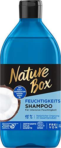 Nature Box Feuchtigkeits-Shampoo Kokosnuss-Öl, 1er Pack (1 x 385 ml)