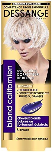 Dessange California Blond Patine Correcteur De Blond für Blondes, coloriertes oder starkes Eclaircis – 125 ml