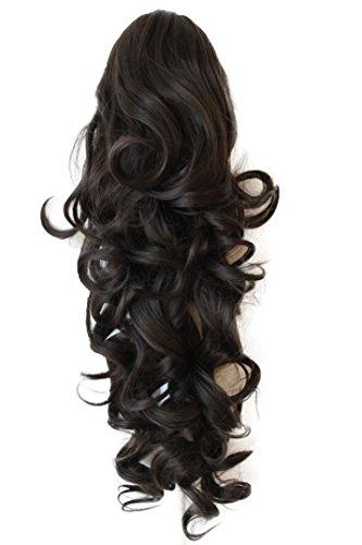 PRETTYSHOP Haarteil Hair Piece Zopf Pferdeschwanz ca 60cm Hitzebeständig wie Echthaar div. Farben H61